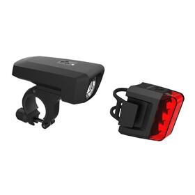 Cube Pro 25 - Kit éclairage vélo - noir